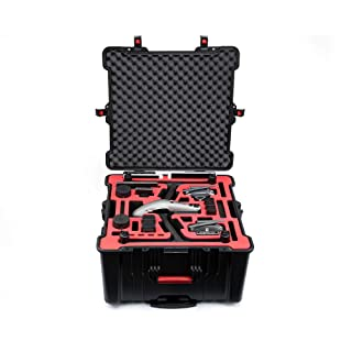 PGYTECH Safety Carrying case for Inspire 2,Waterproof and Hermetic Safety Carrying case for Inspire 2 Batteries Unmanned Chassis HuaYe