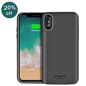 Beefix Portable Battery Case para iPhone X/10 batería móvil ...