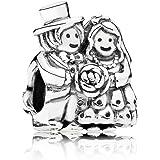 Pandora 791116 - Abalorio de plata de ley