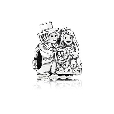 257352427 Pandora Women's 925 Sterling Silver Bride and Groom Charm: Pandora:  Amazon.co.uk: Jewellery