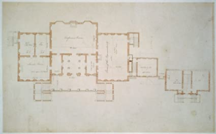 Amazoncom 1792 Photo Architectural Drawing For The United States - Us-capitol-floor-map