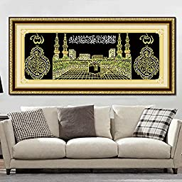 Fenta Home Decoration Religion Muslim Signs Frameless Wall Drawing