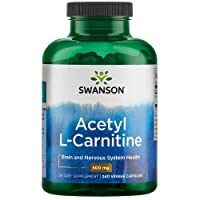 Swanson Acetyl-L-Carnitine Cognitive Health, Nervous System Support, Protection...