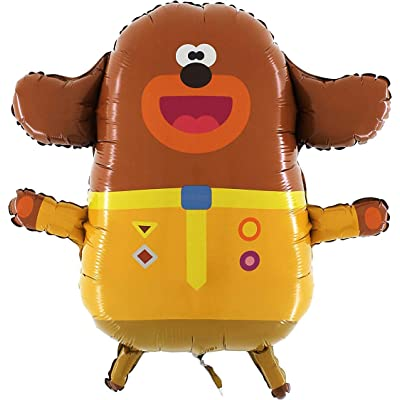 Toyland Giant Jumbo Size Hey Duggee Character Foil Balloon - Kids Party Balloons: Toys & Games