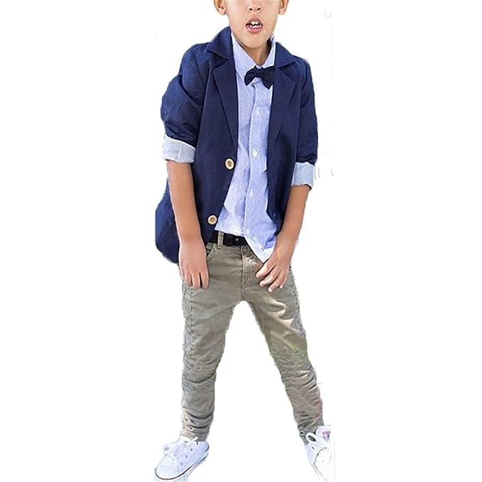 Amazon.com: MRxcff-Boys - Conjunto de ropa para caballero de ...