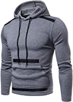Siviki Mens Fashion Slim Fit Long Sleeve Hoodie Hooded Sweatshirt Tops Jacket Coat Hot