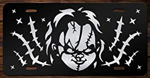 Chucky Face Vanity Front License Plate Tag KCE076