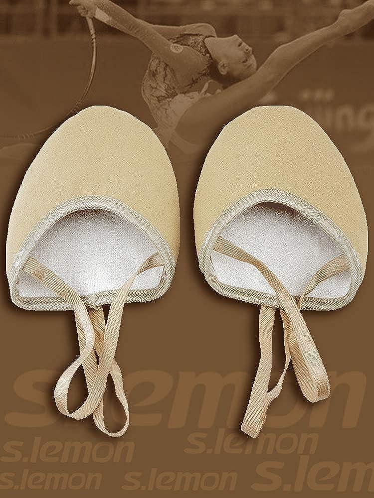 S.lemon Zapatillas Medias de Ballet Baile de Microfibra duraderas Zapatos de Gimnasia rítmica: Amazon.es: Zapatos y complementos
