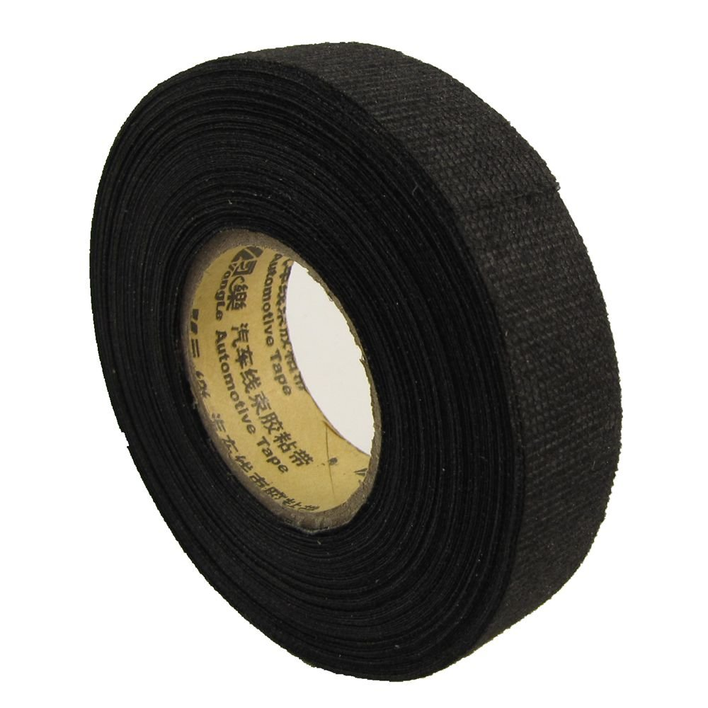 Cloth High Heat Resistant Wiring Insulation Insulating Tape 15m19mm Auto