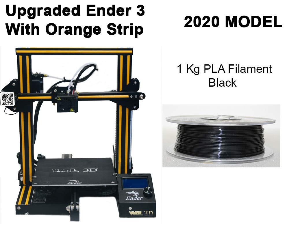 3D UPGRADED Creality Ender 3 Easy to Assemble Premium DIY 3D Printer