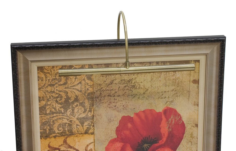 House of Troy APL16-71 Advent Profile LED Picture Light, 16'', Antique Brass