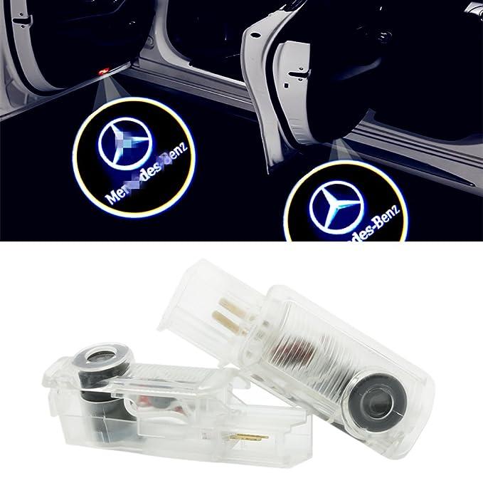 1 opinioni per ZNYLSQ Car portiera luce LED Proiettori Sottoporta Logo Luce LED Del Portello di