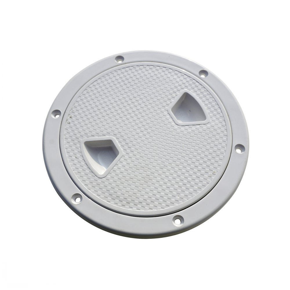ECO-WORTHY 6'' Boat Round Non Slip Inspection Hatch with Detachable Cover