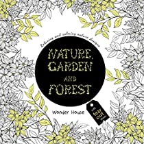 Nature Garden and Forest Colouring Books for Adults with Te
