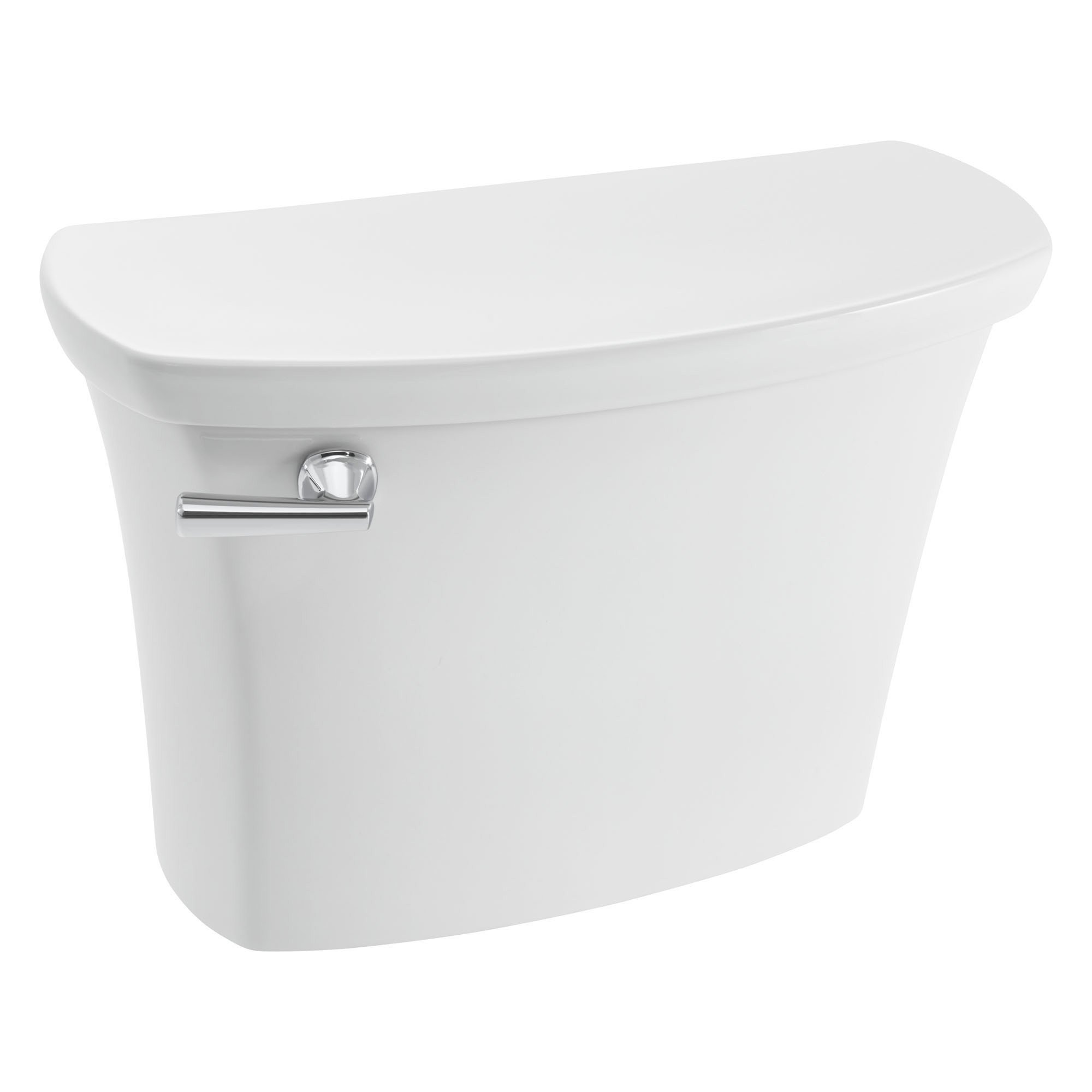 American Standard 4519A104.020 Edgemere 1.0 gpf / 3.8 lpf Toilet Complete with Coupling Components and Tank Trim, White
