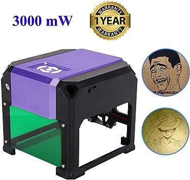 Wisamic 3000mW USB Laser Engraver DIY Logo Carver Engraving Machine 80*80mm