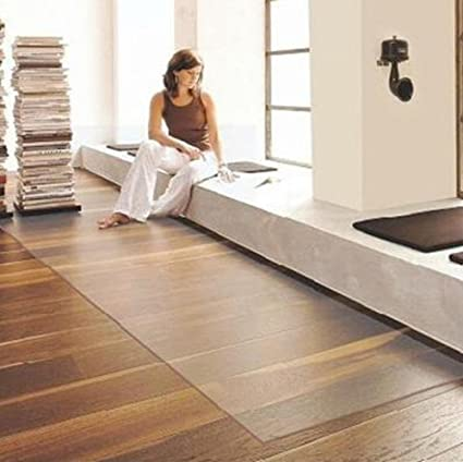 Amazon Com Fjdgjhb Pvc Mats Transparent Flooring Wood Floor