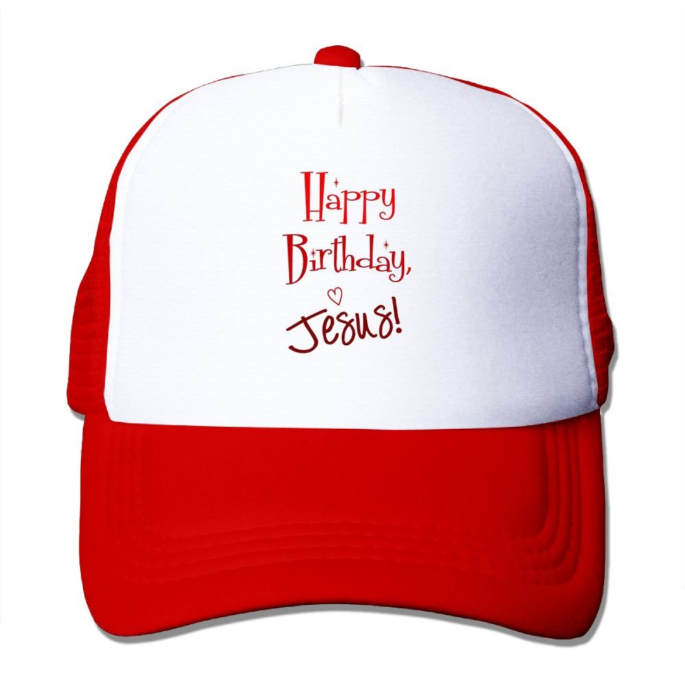 Happy Birthday Jesus Low Profile Baseball Caps For Teen Girls Unique Great For Sports Running Sunmmer Hat