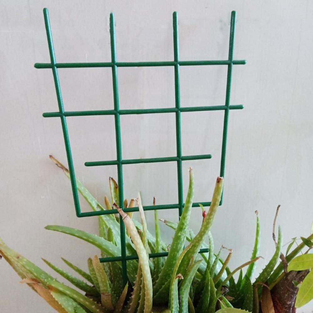 enrejado de pl/ástico arcos de apoyo de metal Soporte para plantas de jard/ín soporte para plantas de escalada enrejado de plantas de jard/ín ca/ña de bamb/ú soporte para herramientas de jardiner/ía Millster