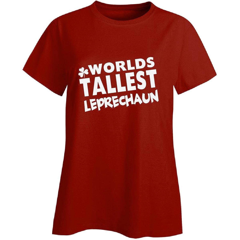 Worlds Tallest Leprechaun St Patricks Day Irish - Ladies T-shirt