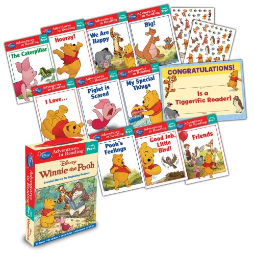 Winnie the Pooh: Reading Adventures Winnie the Pooh Level Pre-1 Boxed Set