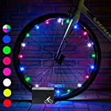 DMbaby Cool Toys for 3-12 Year Old Boys Girls, Water Resistant LED Bike Wheel Spoke Light Outdoor Cool Popular Gifts for 3-12 Year Old Boys Girls 2018 DMUKBL07
