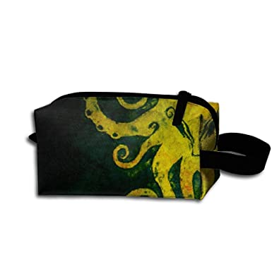 Amazon.com: Octopus In The Dark Hand Purse Wrist Bag Change ...