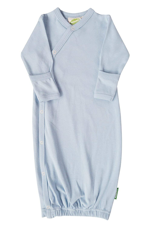 Parade Organics Kimono Gowns - Essentials Pale Blue 0-3 Months GE_PBLUN