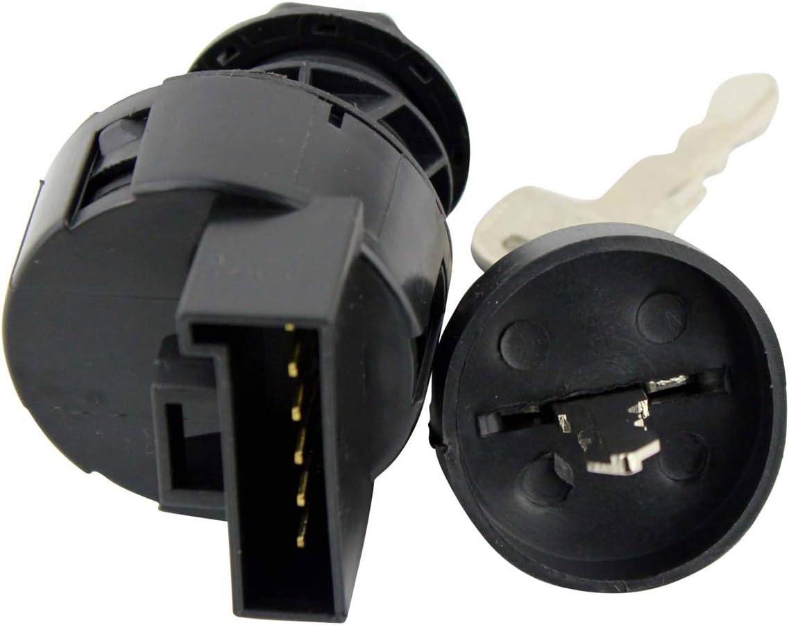 YOFMOO Ignition Key Switch Compatible for Polaris Predator Rally Scrambler Sportsman Trail Blazer Boss Worker Xpedition Xplorer Ranger 175 250 325 335 400 425 450 500 600 700