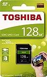 Toshiba 128GB N203 SDXC UHS - Iカード U1クラス10 SDカードメモリカード100MB/s (thn-n203N1280a4)
