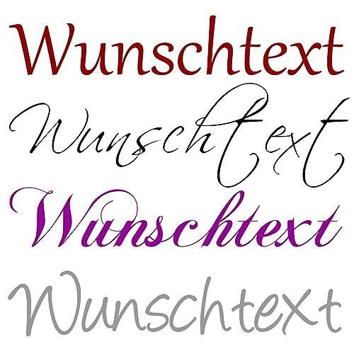Wandtattoo Selbst Gestalten Wunschtext Text Nach Wunsch Farbauswahl  Wanddekoration NEU+++Jetzt Auch Pastellfarben+++