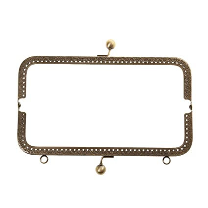 FLAWISH Sew in Coin Bag Evening Purse Metal Frame Handbag Clasp Fastening   Amazon.in  Home   Kitchen c7efb0492b880