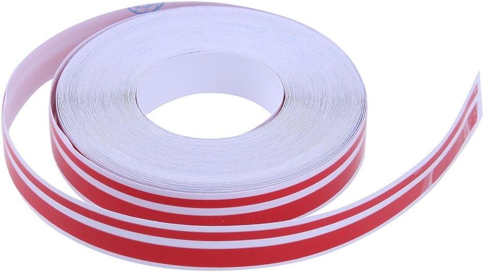 Awakingdemi Car Reflective Stripe Sticker 32ft 4mm X 2mm Pinstriping Pinstripe Vinyl Tape Sticker Double Line