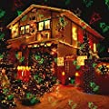 Christmas Laser Light, TOFU Outdoor Star Show Motion LED Projector Light with IR Wireless Remote Decorative for Trees, House, Patio, Halloween, Holidays, Parties, Wedding, Garden