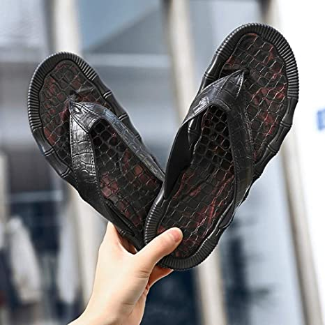 Amazon.com : YJYdada Slippers, Casual Mens Personality Flats Durable Flip-Flops Antiskid Slippers Beach Shoes : Sports & Outdoors