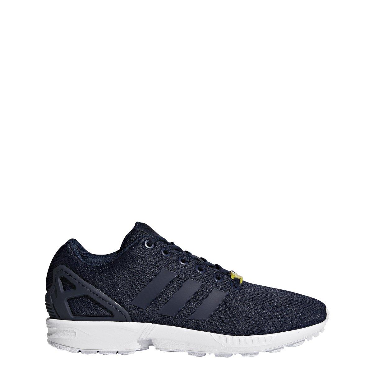 adidas Originals Men's Zx Flux Sneaker B07897JKKM 9.5 D(M) US Dark Blue/ Dark Blue-white