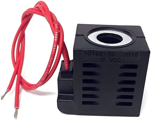 12V DC Solenoid Coil 16W Dual Wire Lead for Hydraulic Power Units Deltrol 10238-66