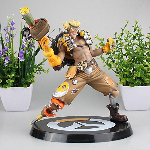 Overwatch Junkrat Jamison Fawes PVC Statue Figure on The