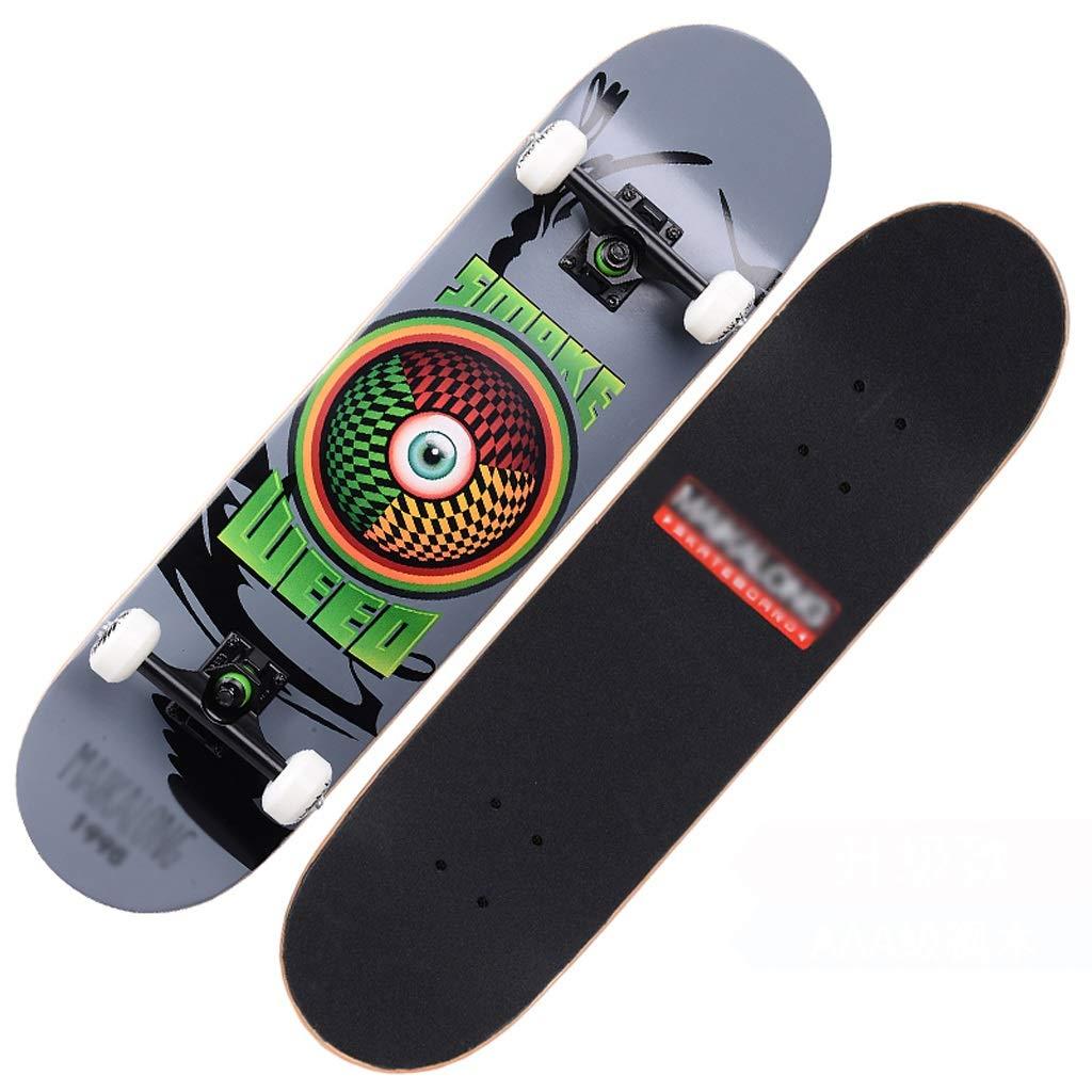 最安価格 DUWEN (色 スケートボードの十代の若者たちプロ四輪スケートボード子供大人男性と女性ダブルロッカースケートボードメープルスクーター B) B07PKMXPH9 (色 : B) B07PKMXPH9 B, とことこマーチ:0d2a2286 --- quiltersinfo.yarnslave.com