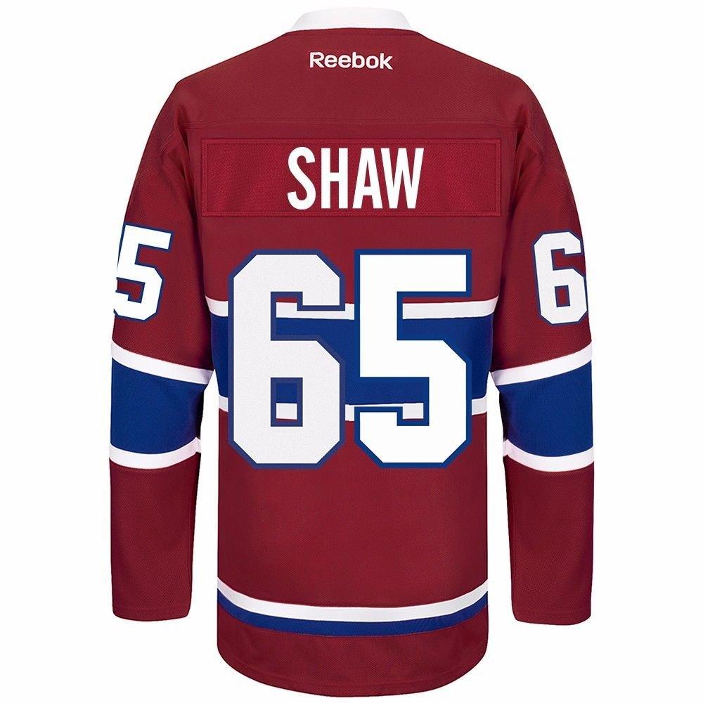 purchase cheap e603a 3fc38 Amazon.com : Andrew Shaw Montreal Canadiens Reebok Premier ...