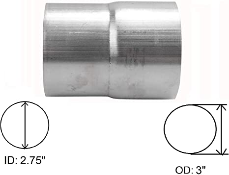 Amazon.com: Yjracing - Adaptador universal para tubo de ...