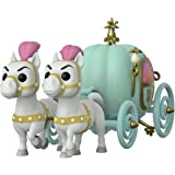 Funko- Pop Town: Cinderella-Carriage w/Fairy Godmother Collectible Toy, Multicolor (45549)