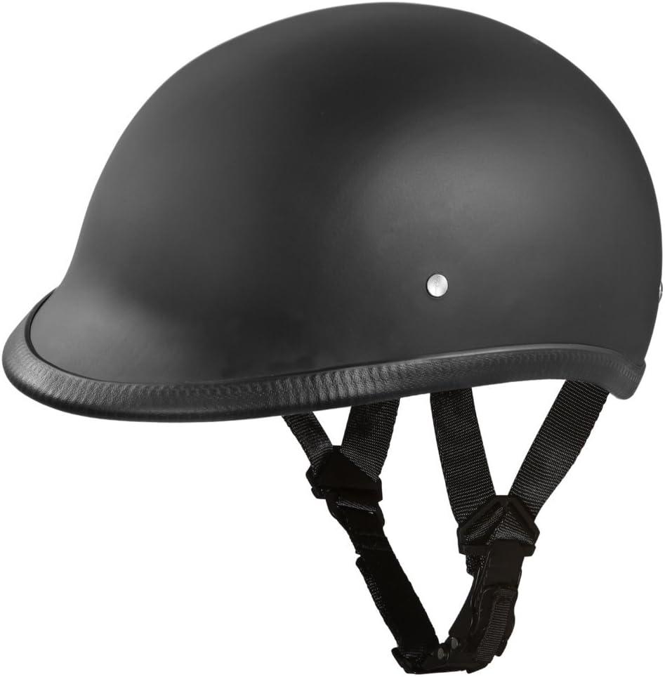 Daytona Helmets Motorcycle Half Helmet Hawk- 100% DOT Approved