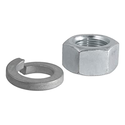 CURT 40104 Replacement Trailer Hitch Ball Nut and Washer for 1-Inch Trailer Ball Shank: Automotive