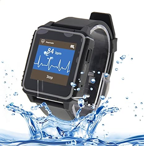 Smartwatch, A-Best IP68 Impermeable Deporte Reloj Inteligente Monitor Smartwatch Sumergible de Frecuencia Cardiaca Bluetooth 4.0 ...