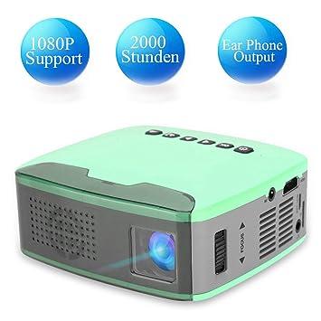 Tonysa - Mini proyector portátil 1080P HD LED, proyector de Cine ...