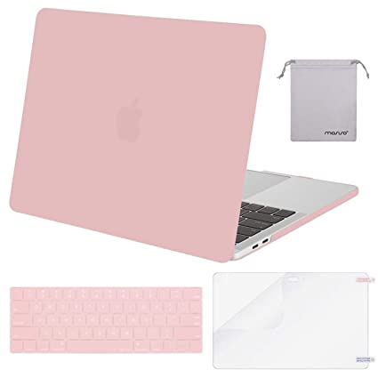 new style d8c34 ee925 MOSISO MacBook Pro 15 Case 2018 2017 2016 Release A1990/A1707 Touch Bar  Models, Plastic Hard Shell & Keyboard Cover & Screen Protector & Storage  Bag ...