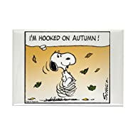 "CafePress Autumn Addiction Rectangle Magnet, 2""x3"" Refrigerator Magnet"