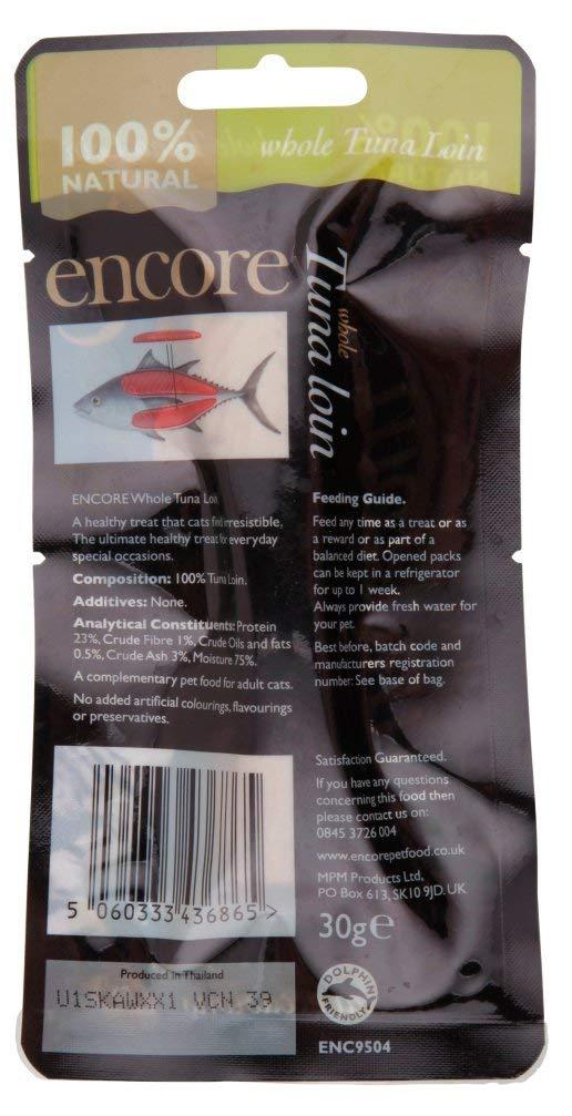 Encore Tuna Loin Cat Food 30g (Pack of 12)