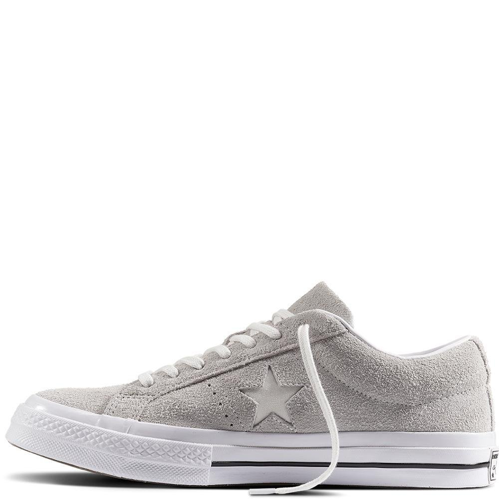 Converse Lifestyle One Star Ox Suede, Suede, Suede, Scarpe da Fitness Unisex – Adulto | Esecuzione squisita